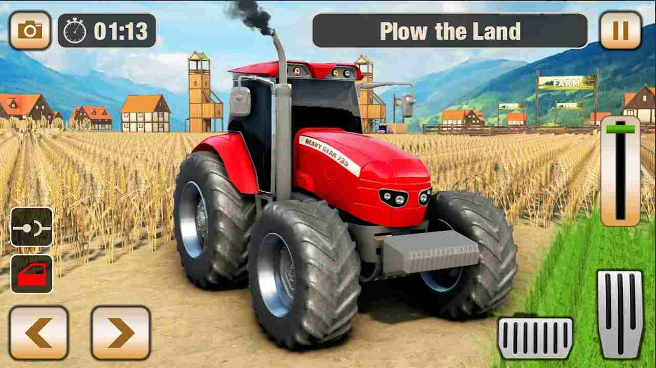 tractor game